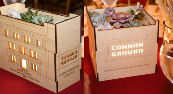 Surface Grooves Centerpieces