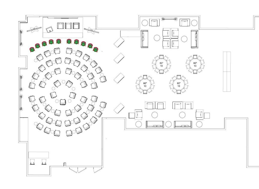 Event Design Meeting Layout
