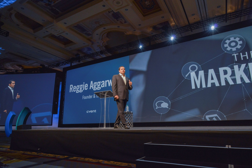 Reggie Aggarwal Cvent connect 2016